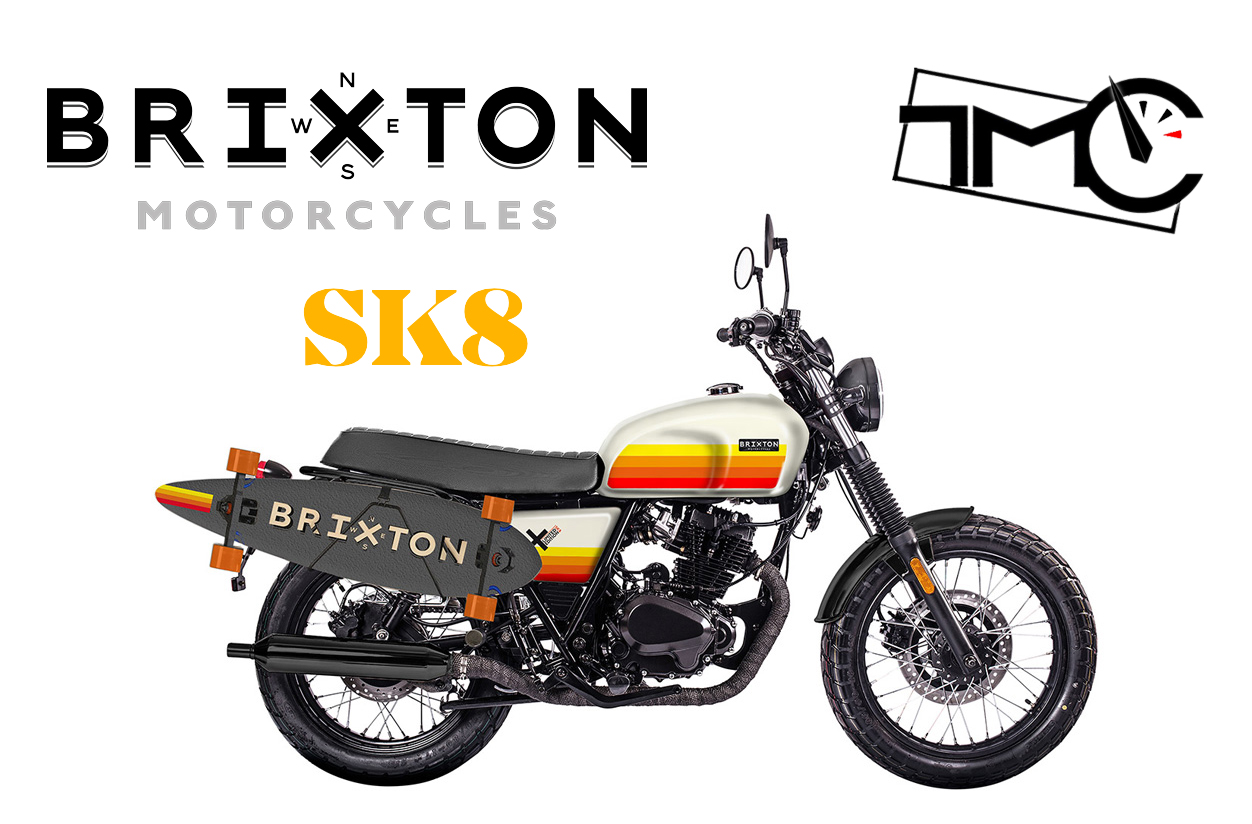 Newsletter moto Brixton SK8 Toulouse Motos Cycles